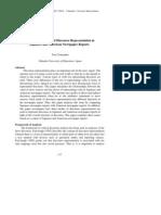 Critical Discourse Analysis of Discourse Representation