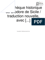 Bibliothèque historique de Diodore de Sicile. Tome 1