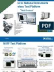 Introduction to National Instruments Wireless Test Platform