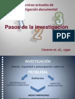 Pasos Investigacion