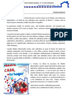 MOTIVACIÓN 2º -3º CICLO PRIMARIA -PREPARACIÓN VISITA MADRE GENERAL