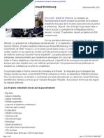 Les 34 Plans Industriels d Arnaud Montebourg