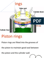 Piston Rings, Function, Material
