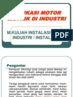 6.Aplikasi Motor Di Industri