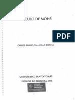 Circulo de Mohr Carlos Vallecilla