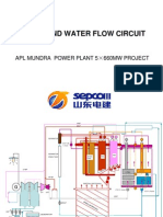 5x660mw_steam and Water Flow Circuit
