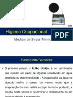 Higiene Ocupacional- Avaliações Stress Térmico