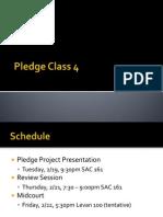 Pledge Class 3 -  Resume Workshop