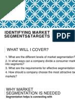 Market Segments & Targets