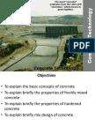 Concrete Technology, basics of concrete