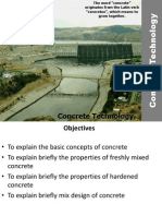 Concrete Technology, basics of concrete