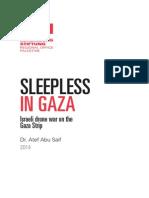 Sleepless in Gaza by Atef Abu Saif RLS Palestine
