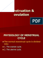 Menstruation & Ovulation
