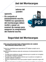Forklift Training Spanish