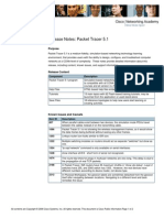 Packet Tracer 5.1 Release Notes Final