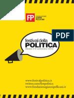 Festival della Politica 2013 - Report #festpolitica