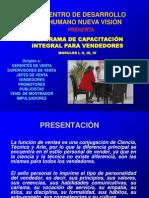 PROGRAMA DE CAPACITACIÓN INTEGRAL PARA VENDEDORES