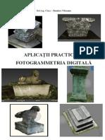 Aplicatii fotogrammetrice in fotogrammetria digitala
