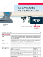 Leica Viva GNSS Getting Started Guide
