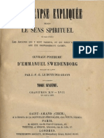 Em Swedenborg L'APOCALYPSE EXPLIQUEE TomeSixieme Chapitres XIV XVII Numeros 848 1089 LeBoysDesGuays 1859