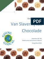 Going Glocal 2013 Van Slavernij Tot Chocolade Lesplan Nederlands