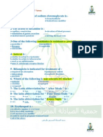 Prometric Pharmacy MCQs (Solved)(1)