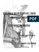 Diploma Al Mejor Pirata Del Caribe