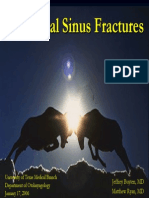 Frontal Sinus Fx Slides 070117