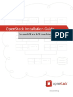 Openstack Install Guide Zypper Trunk