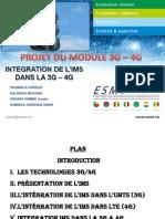 IMS - 3G - 4G