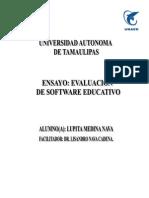 Software Educ. Ensayo