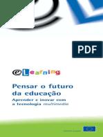 E-LEARNING - PENSAR FUTURO EDUCAÇÃO (FOLHETO) [UE - SD]