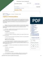 Personas jurídicas - Derecho Civil