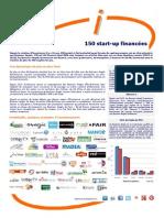 150 startups financées