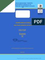 Examen CIAAC EGE-PCAF 2011