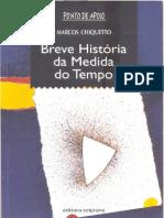 Marcos Chiquetto - Breve História da Medida do Tempo  - O Calendario