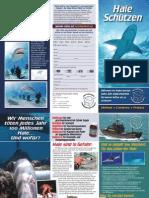 Sea Shepherd Shark Brochure German