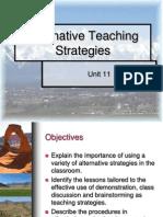Alternative Strat. Presentation