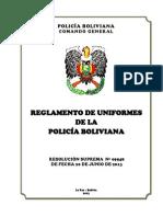 REGLAMENTO DE UNIFORMES IMPRESIÓN