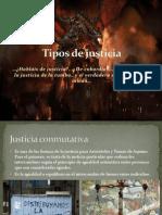 Tipos de Justicia