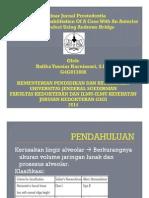 PROSTHODONTIC REHABILITATION OF A CASE WITH AN ANTERIOR RIDGE DEFECT USING ANDREWS BRIDGE