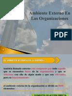 6to a Tema 2 Ambiente Externo en Las Organizaciones