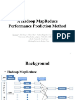 MapReduce performance prediction