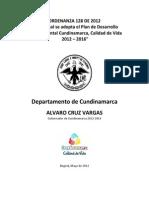 CUNDINAMARCA 2012_2016