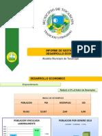 Informe de Gestion Final Desarrollo Economico 2013