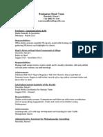 Remington Taum Resume ('14 update)