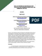 Artigo - 2005 - AJUSTANDO AS DINÂMICAS INDIVIDUAIS E DE GRUPO - BENFATTI FRANCO BUSTAMANTE