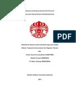 Masalah Keanggotaan dalam Organisasi Internasional.doc