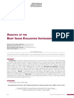 Analysis of the Body Imagen Evaluation Instruments