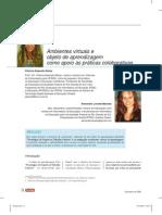 Artigo - 2008 - AVA e Objeto de Aprendizagem - BEHAR - MACEDO